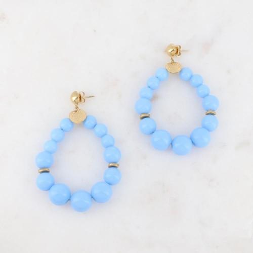 Boucles Soriana Bleu