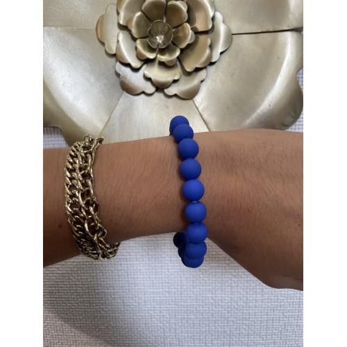 Bracelet Matty Bleu Electrique