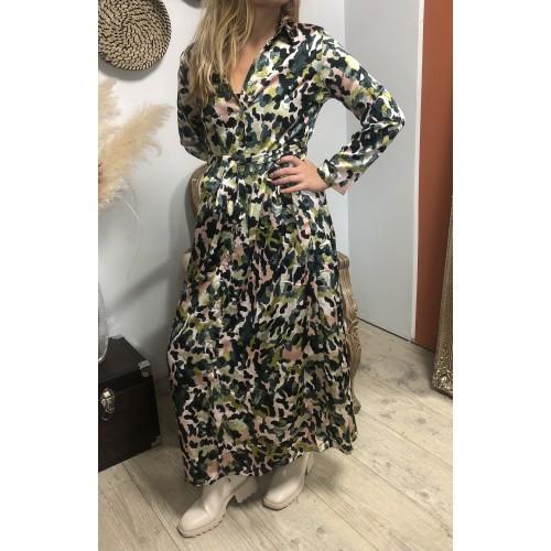 Robe longue Malina